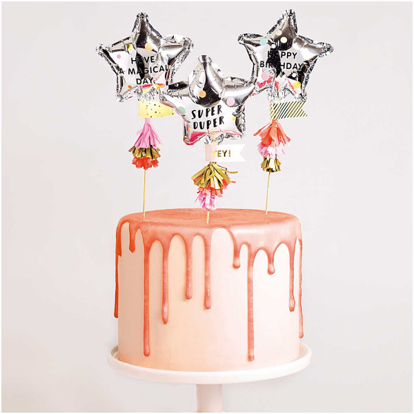 Cake Topper Folienballon