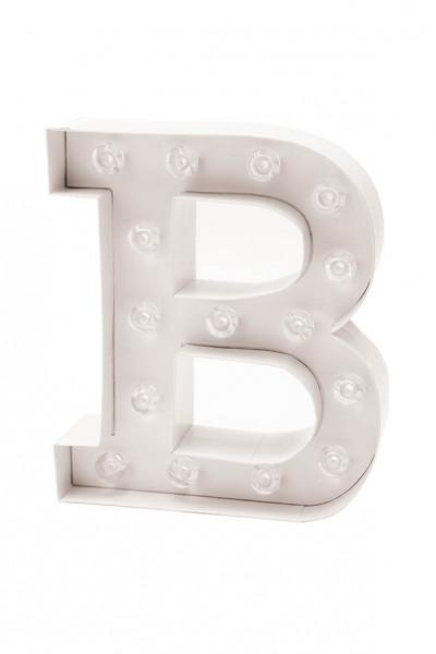 LED Buchstabe B
