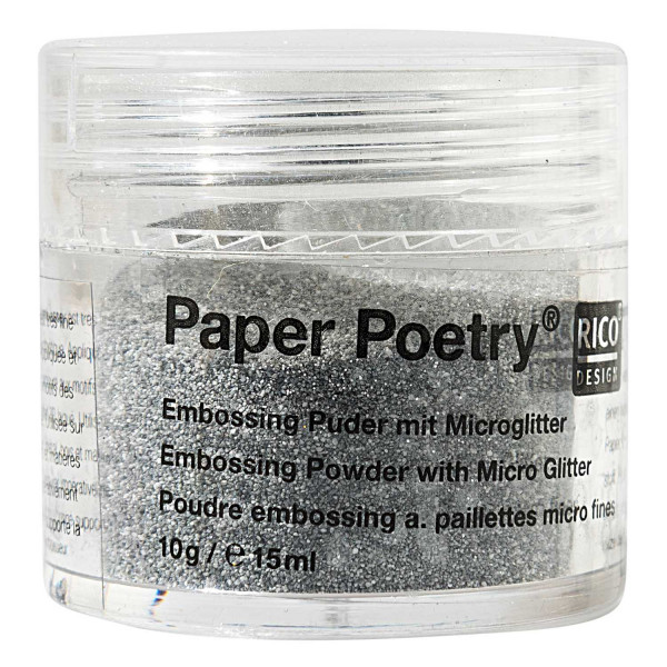 Embossing Puder silber