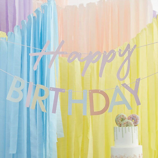 Birthday Blush Girlande