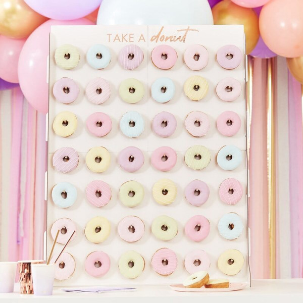 XL Donut Wall Hochzeit
