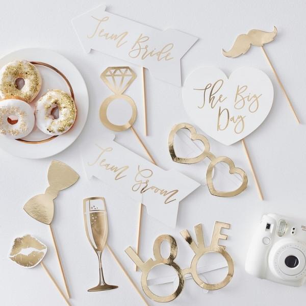Hochzeit photo Booth Accessoires