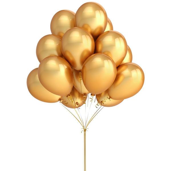 Gold Ballons