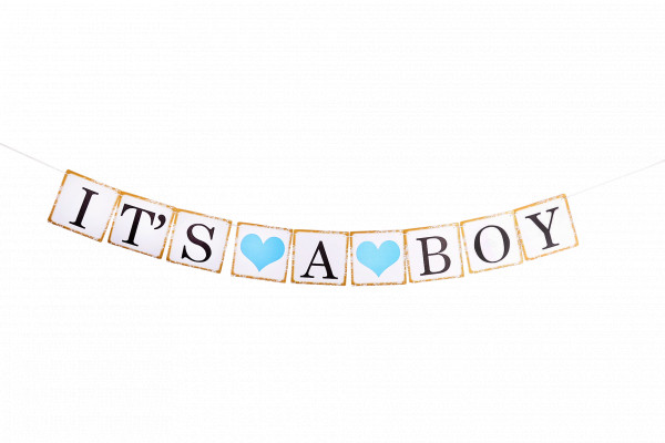 Baby Shower Girlande | It's a boy