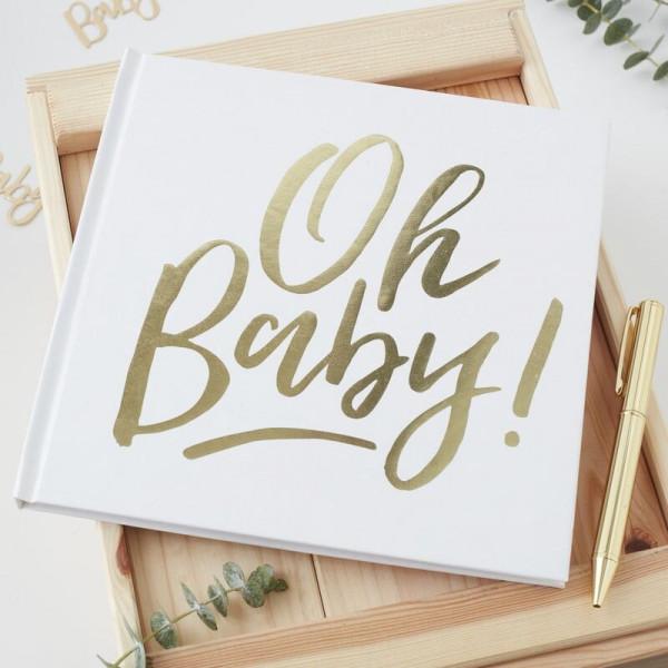 Gästebuch Baby Party