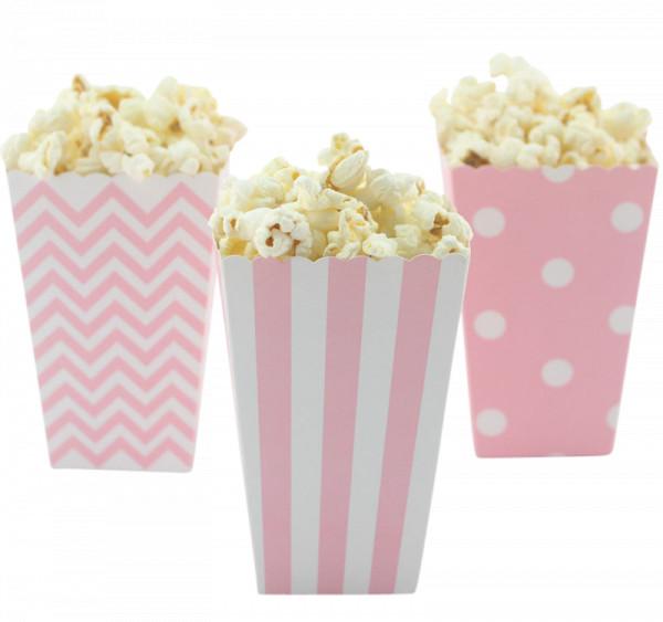 Popcorn Tüten rosa