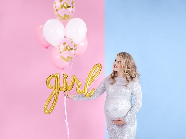 Baby girl Ballon | Gold