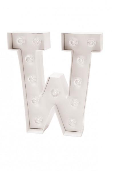 LED Buchstabe W