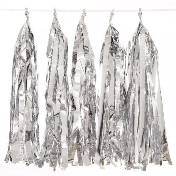 Tassel Girlande | silber