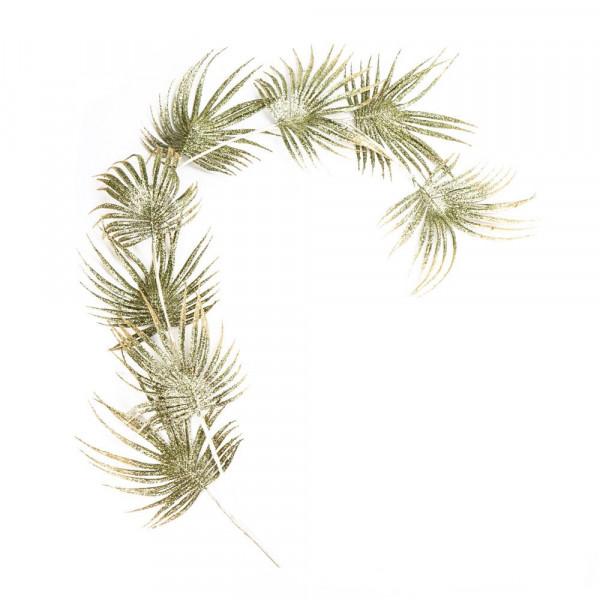 Palmenblatt Girlande Gold