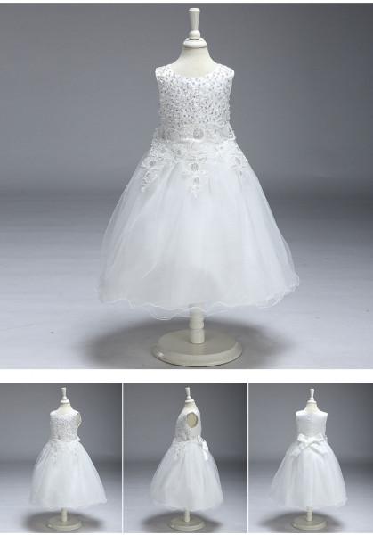 Brautmädchen Kleid Pallietten