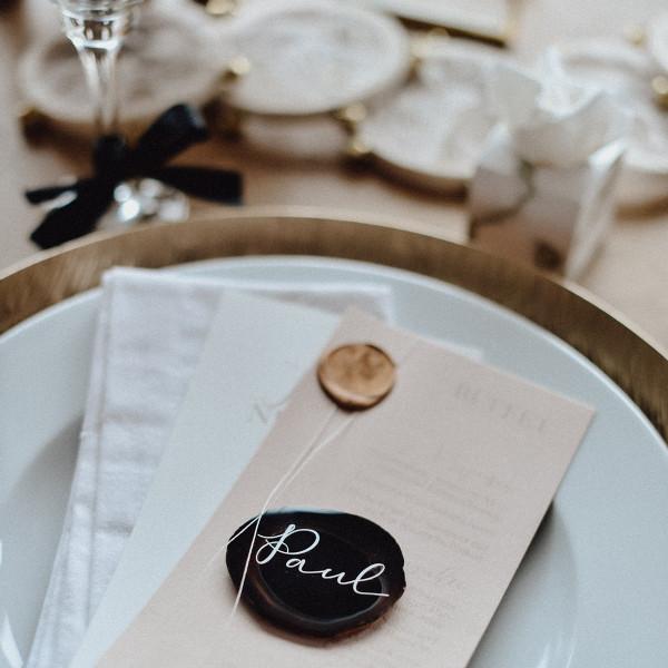 Gastgeschenk Hochzeit Achatscheiben