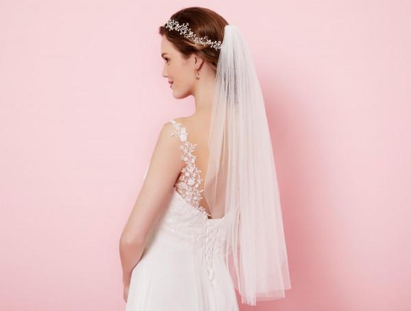Bride Schleier 80 cm