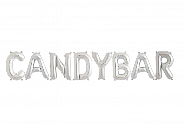Candybar silber