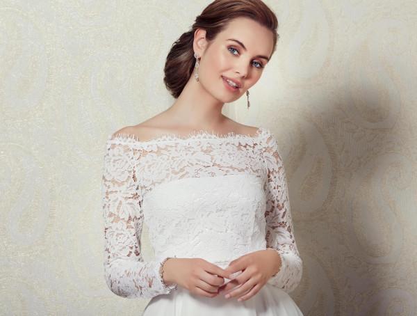 Braut Spitzenbluse
