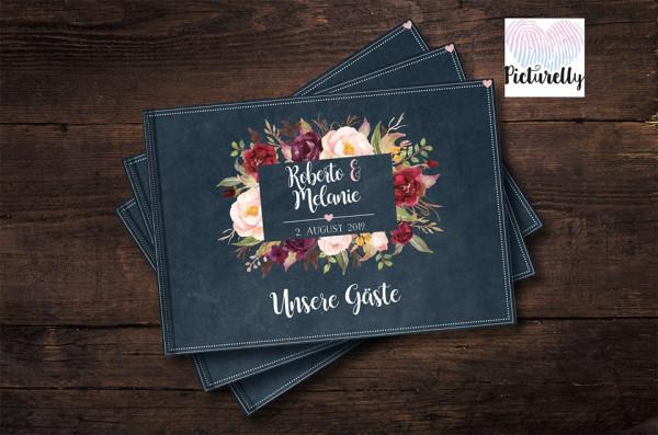 Gästebuch Hochzeit, Gästebuch individualisiert