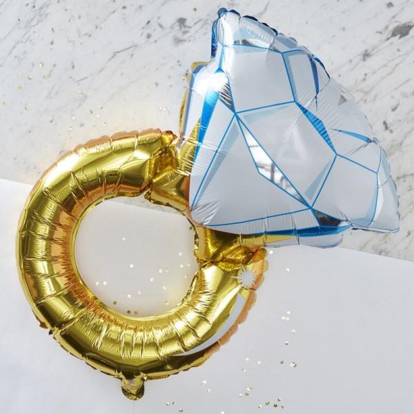 Verlobungsring Ballon