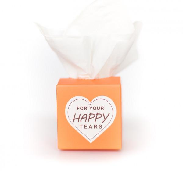 50 Freudentränen orange