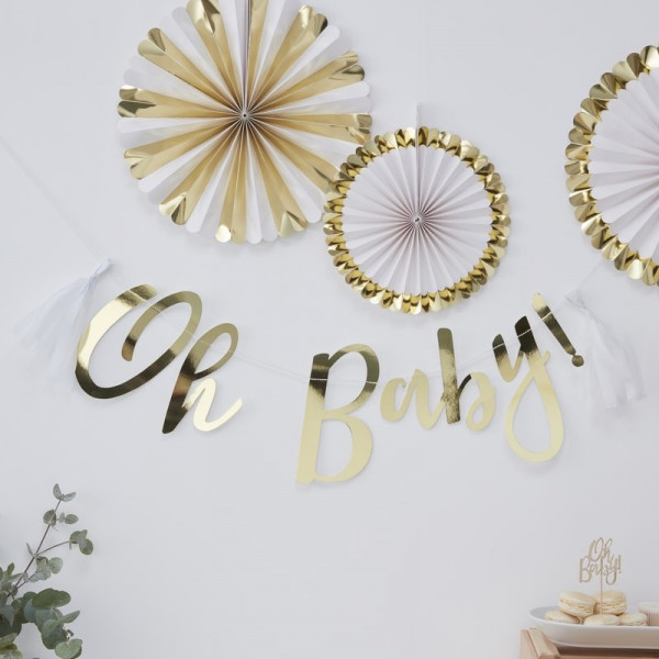 Baby Shower | Girlande Oh Baby