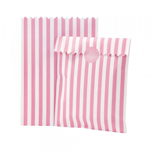 Candy Bar Tüten pink