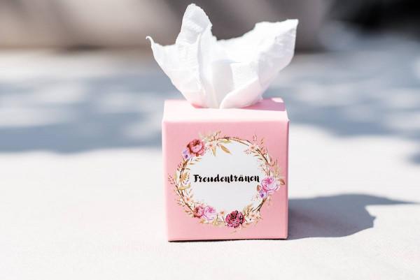 50 Freudentränen rosa