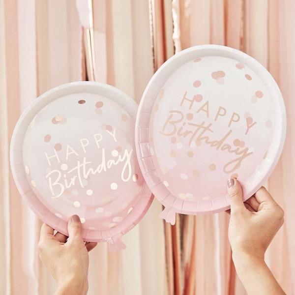 Geburtstags Teller
