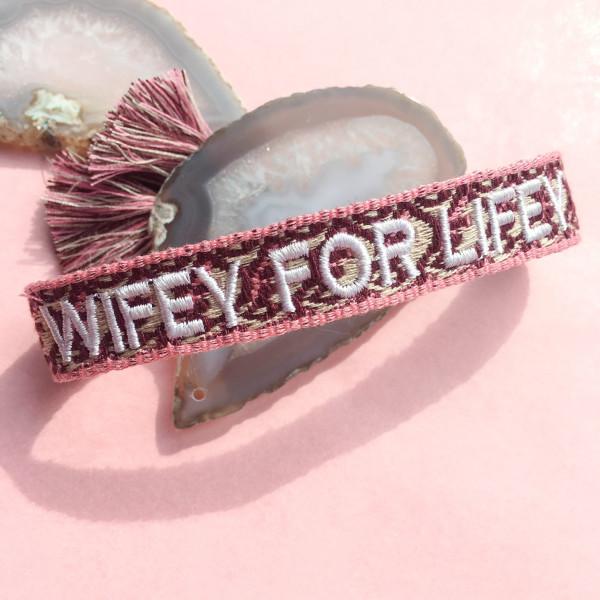 Wifey Armband