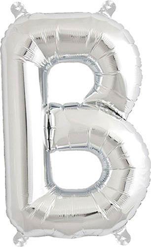 Folienballon B | Silber