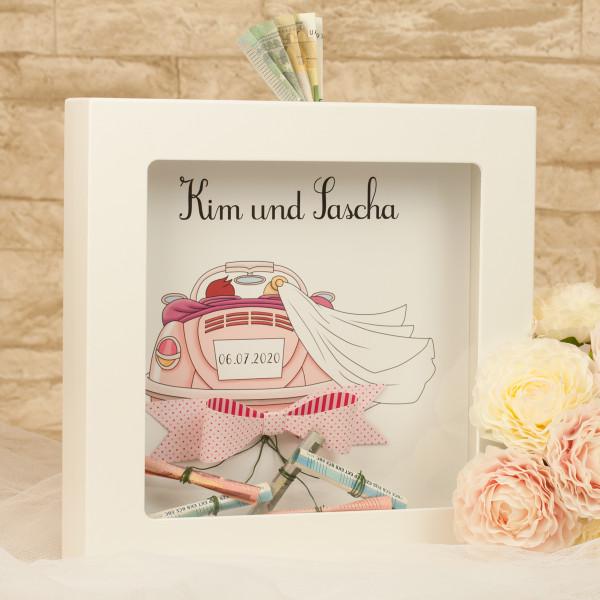 Spardose |Hochzeitsgeschenk
