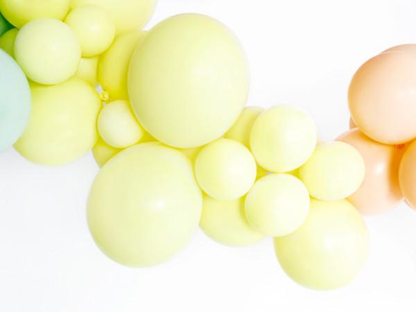 Pastell Ballons Gelb 10er Set