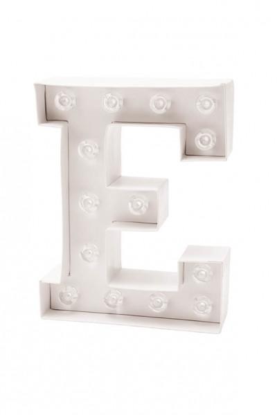 LED Buchstabe E