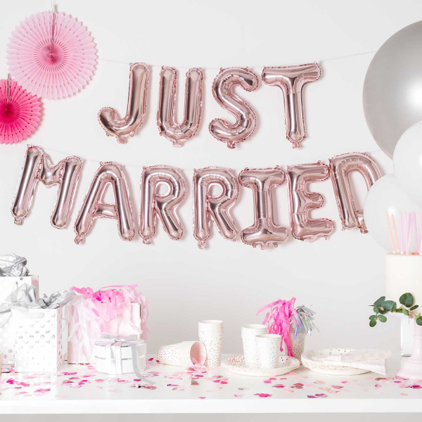 Ballon Set Just Married