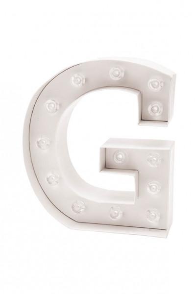LED Buchstabe G