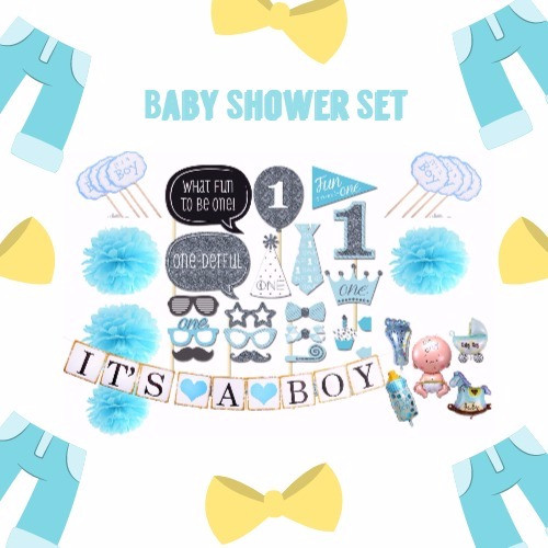 Baby Shower Set for Boys
