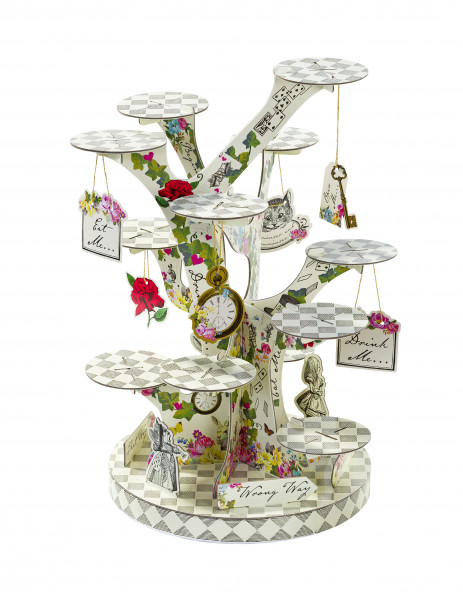 Alice im Wunderland Cakestand
