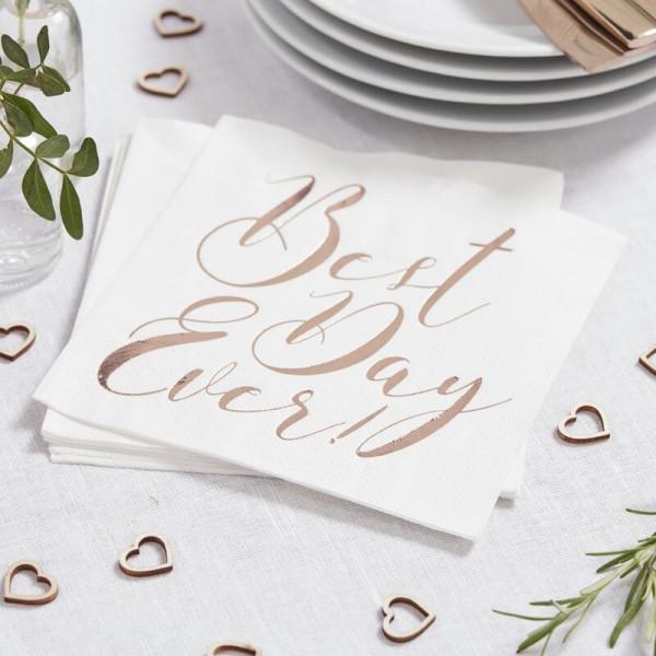 Hochzeit's Servietten