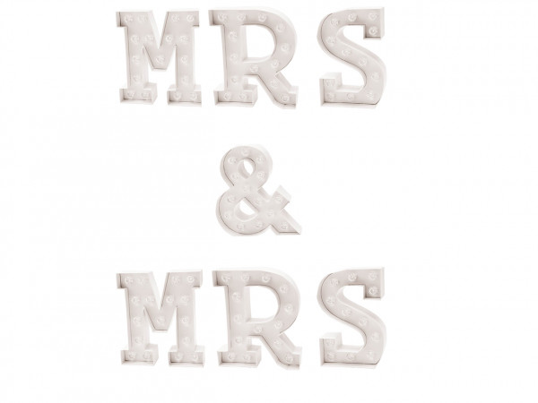MR & MRS LED