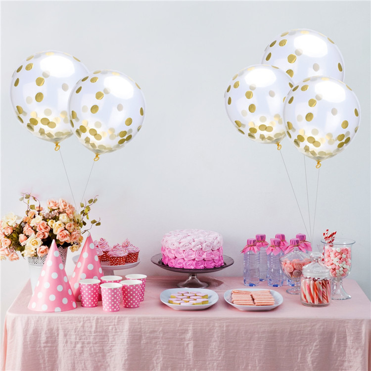 konfetti ballons gold marry you. Black Bedroom Furniture Sets. Home Design Ideas