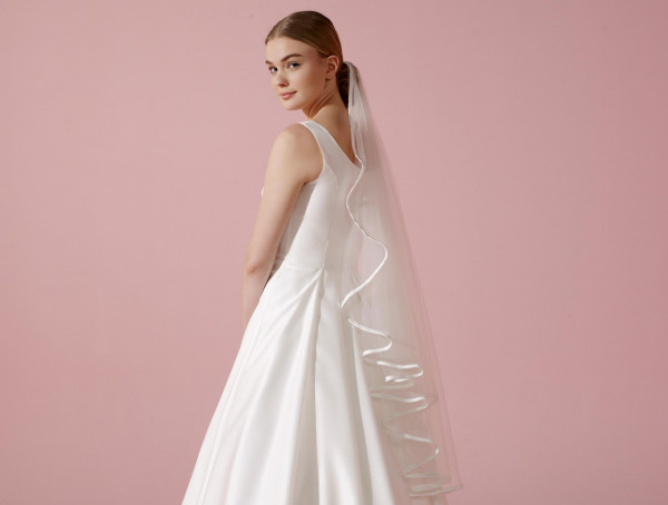 Bride Schleier 100 cm
