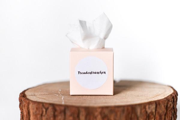 Freudentränen Taschentücher |peach