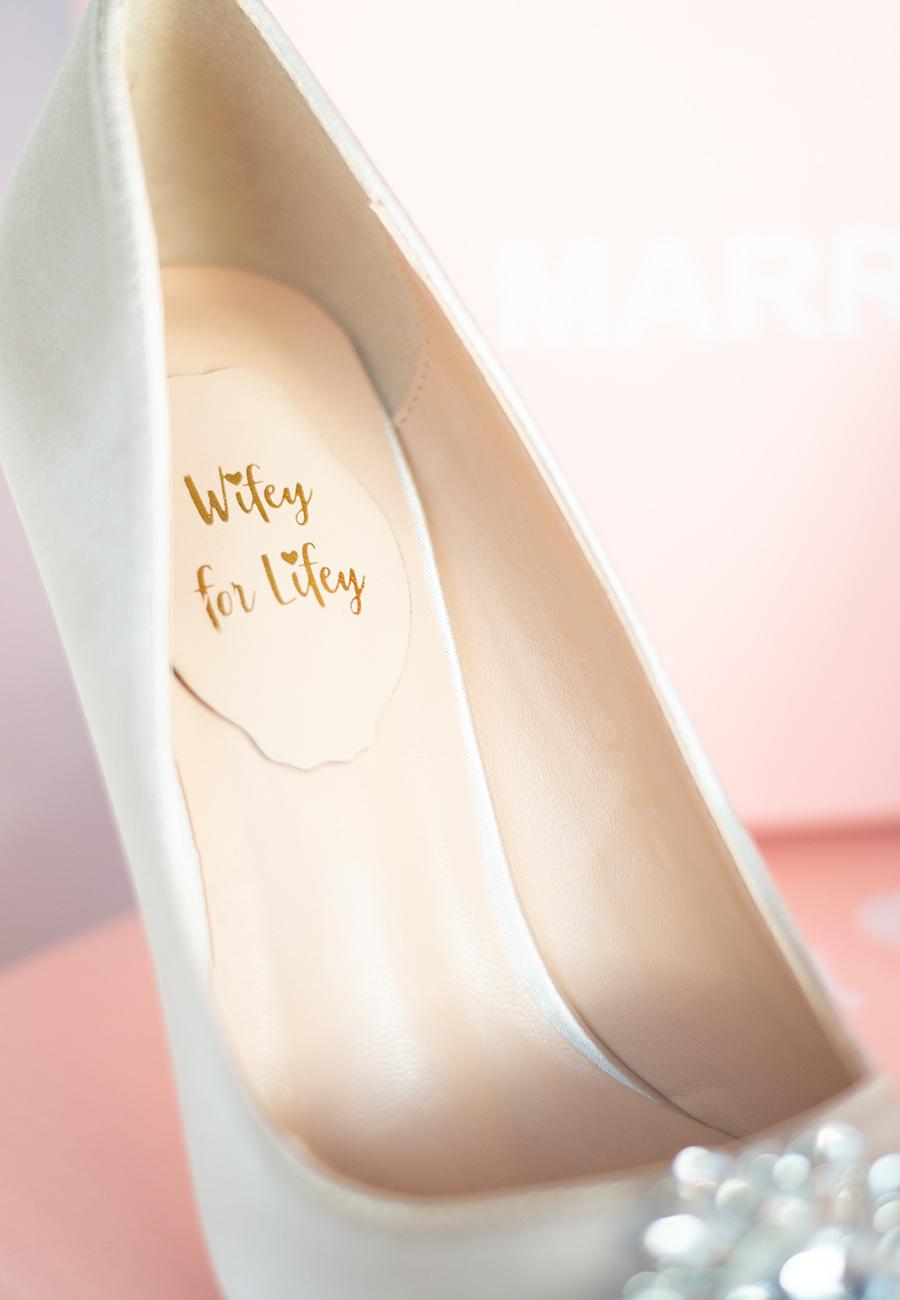 Schuhe-Braut