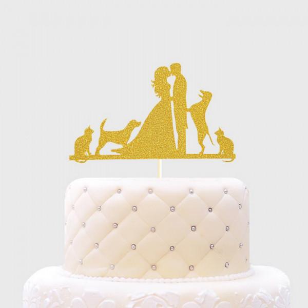 Cake Topper | Hochzeits Torte