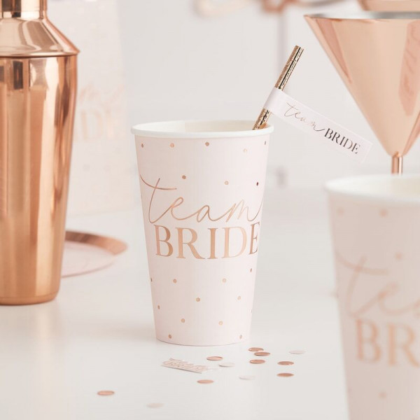 Team Bride large Cups