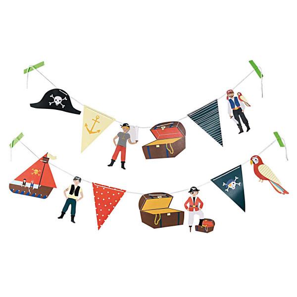 Piraten Girlande Geburtstag