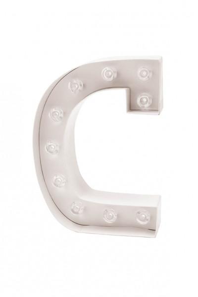 LED Buchstabe C