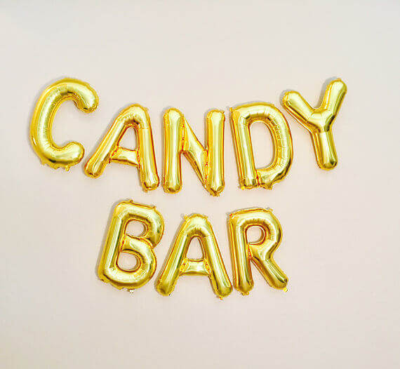 Candy Bar Girlande