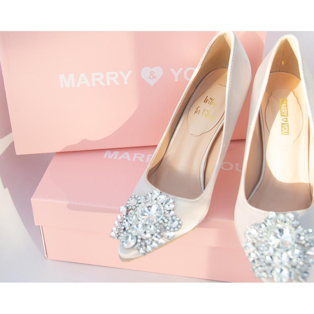 Brautschuhe Hochzeit Marry You