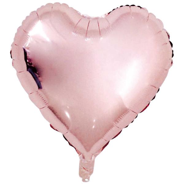 Folien Ballon Kupfer Herz