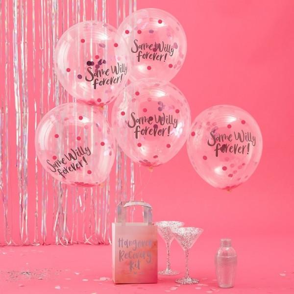 JGA Konfetti Ballons