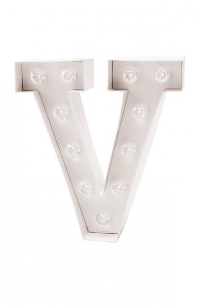 LED Buchstabe V